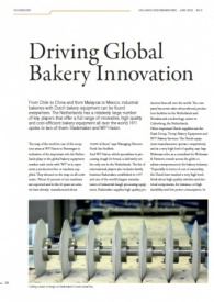 Driving Global Bakery Innovation, Holland Food Innovations